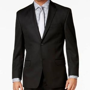 NEW Sean John |Black Fine Tailored Suit Jacket 40L